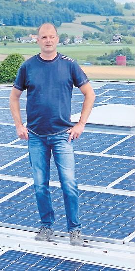 Roger Lüscher: Seit einem Vierteljahrhundert mit hundert Prozent Energie bei uns im Einsatz!