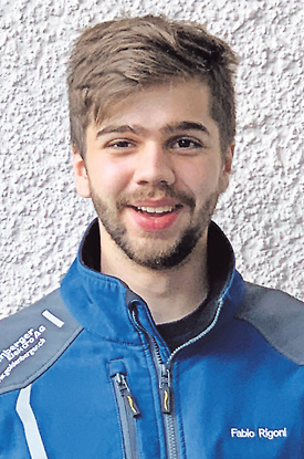 Fabio Rigoni: erfolgreicher Lehrabschluss als Elektroinstallateur EFZ!