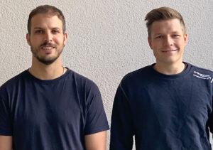 Herzliche Gratulation unseren Jubilaren Patrick Schönbächler und David Stephan
